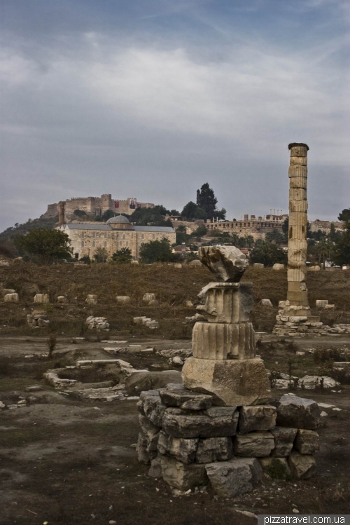 Ruins of the Temple of Artemis at Ephesus
