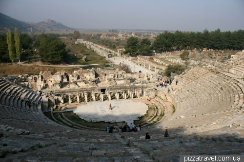 Large theater in Ephesus
