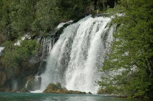 Водопады Рошки-Слап (Roški Slap)