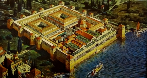 Reconstruction of the Palace of Diocletian