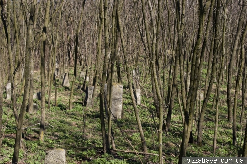 Ancient Cossack cemetery