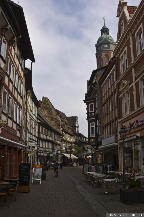 Вулиця Marktstrasse в Айнбеку