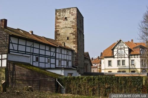 Вежа Totenturm в Айнбеку