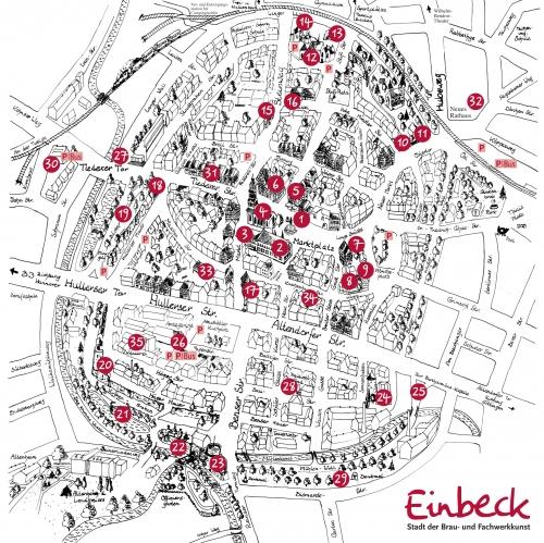 Карта Айнбека