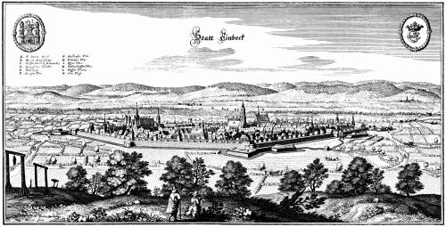 Айнбек 1654 року
