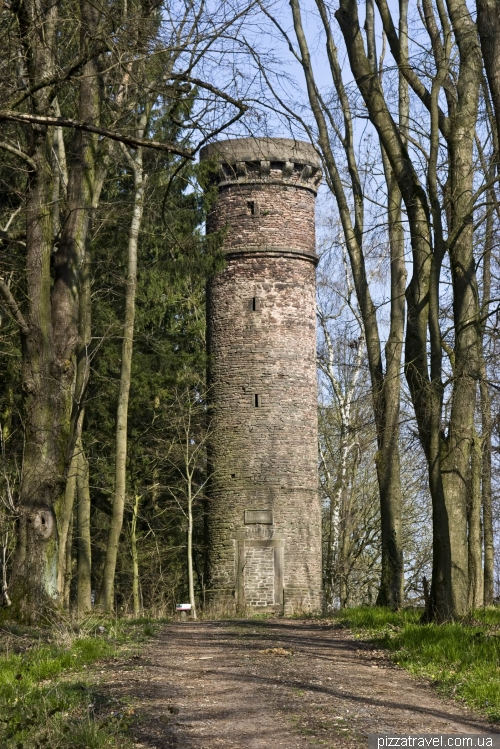 Tower in the forest near the Hardenberg Castle