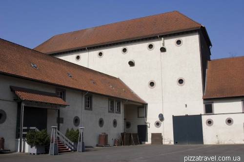 Distillery near the Hardenberg Castle