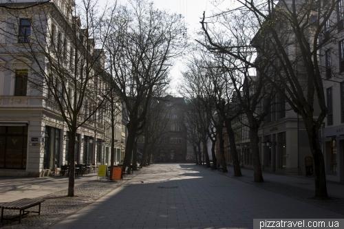 Улица Шиллера в Ваймаре