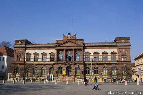 Здание почты в Ваймаре