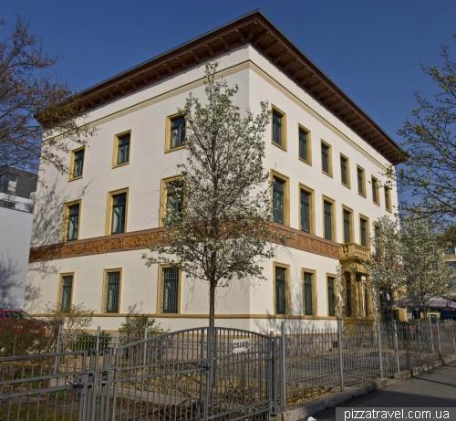 Дом в Ваймаре на аллее Карла Августа