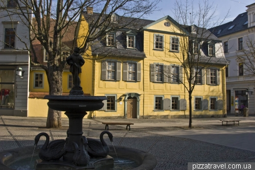 Дом-музей Шиллера в Ваймаре