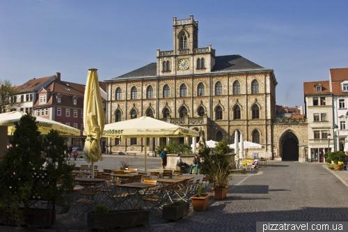 Рыночная площадь в Ваймаре