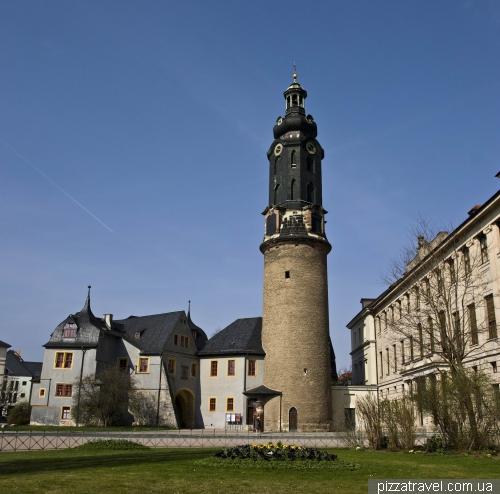 Городской замок-дворец в Ваймаре