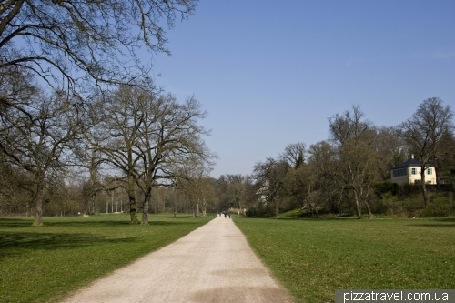 Парк на реке Ильм в Ваймаре