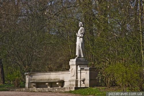 Памятник Ференцу Листу в Ваймаре