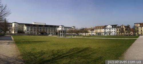 Площадь Бетховена в Ваймаре
