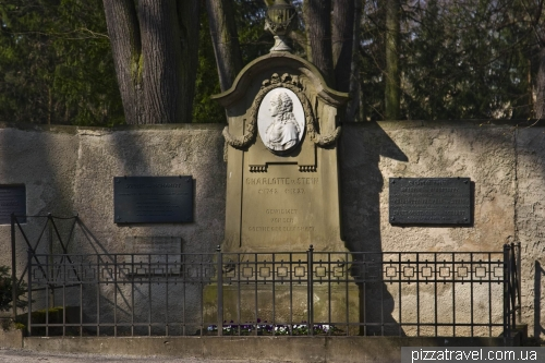 Историческое кладбище в Ваймаре