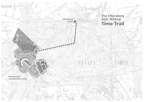 Time lane - trail connected the Buchenwald and Ettersburg castle