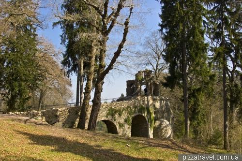 Ландшафтный парк около дворца Бельведер в Ваймаре