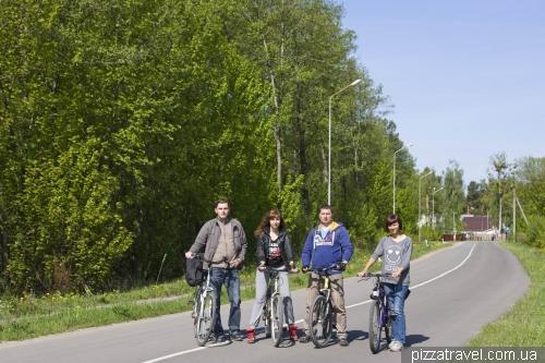 Шацкие озера идеальны для велосипедных прогулок