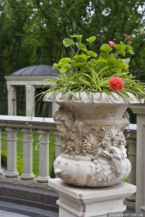 Vase with ram