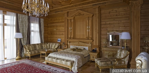 Bedroom of Yanukovych