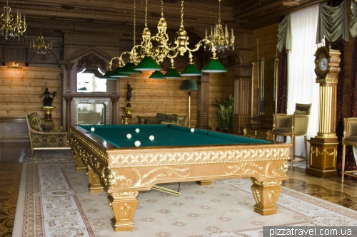 Billiard room in Honka