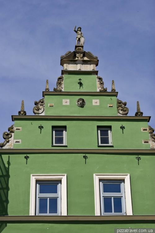 Интересный дом в Гюстрове