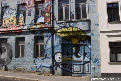 Graffiti in Schwerin