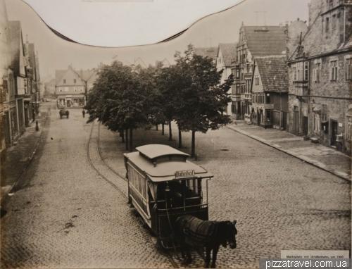 Раніше в Штадтхагені був трамвай