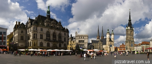 Market Square in Halle