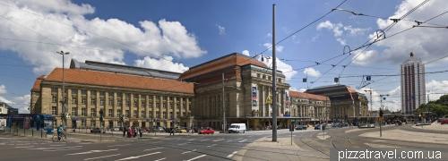 Железнодорожный вокзал в Лейпциге