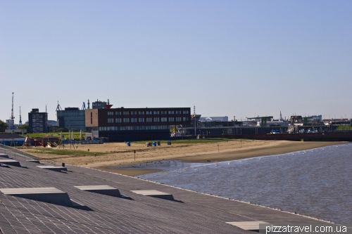 Beach in Bremerhaven