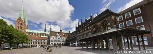 Рыночная площадь в Любеке