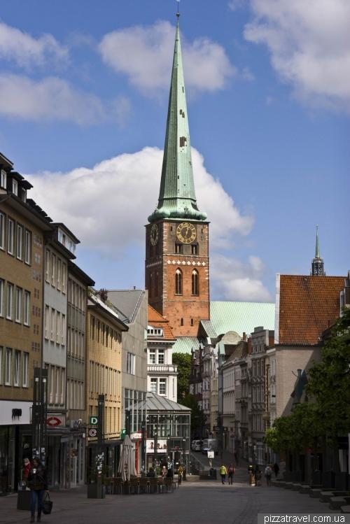 Церковь Святого Якова в Любеке