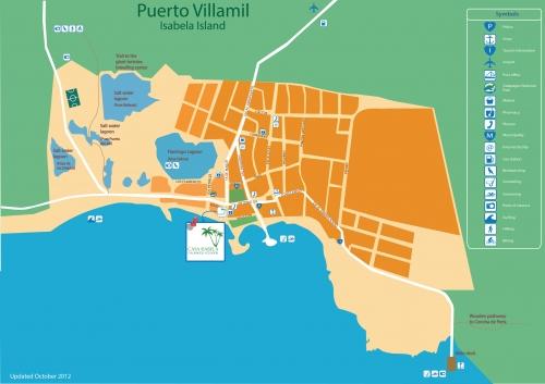 Карта Пуерто Вільяміля