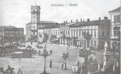 Kolomyia. Market Square in the early 20th century