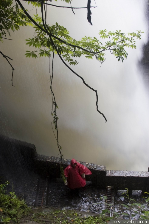 Водопад Pailon del Diablo