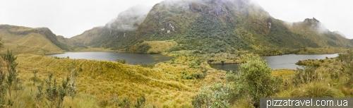Национальный парк Cayambe Coca