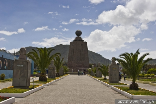 Equator in Ecuador