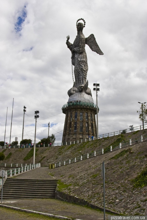 Статуя Девы Марии в Кито (Virgin of El Panecillo)