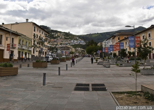 Улица Ронда в Кито (Calle de la Ronda)