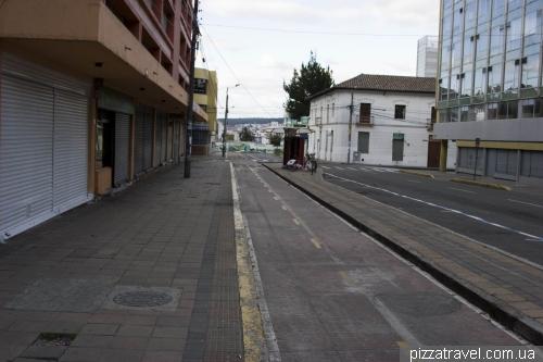Велодорожка в Кито