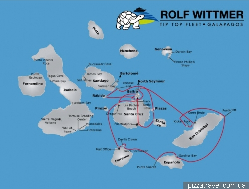 Галапагосы. Круиз по южным островам