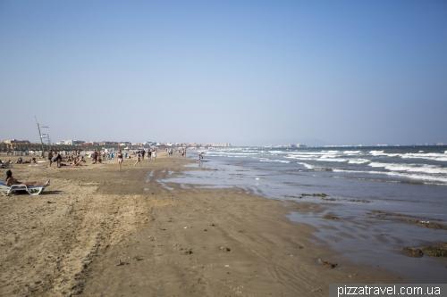Пляж Валенсии