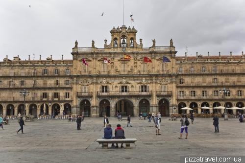 The main city square Plaza Mayor