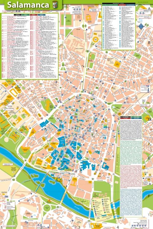 Map of Salamanca