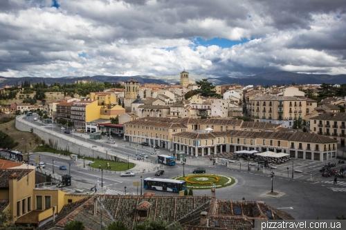 Artillery Square of Segovia