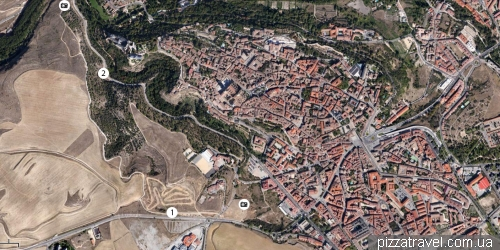 Segovia viewpoints
