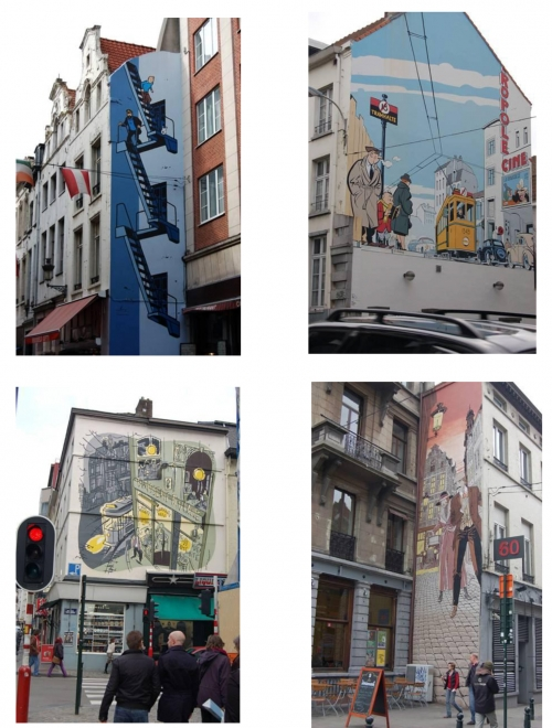 Paintings in Brussels